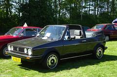 Volkswagen Golf Cabriolet (peterolthof) Tags: peterolthof klazienaveen oldtimerdag 652018 jrfb25