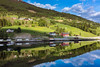 Oh, it's such a perfect day... (clive_metcalfe) Tags: olden norway reflections morninglight