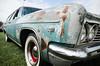 Dysfunctional family hauler (GmanViz) Tags: gmanviz color car automobile vehicle detail nikon d7000 1966 chevrolet impala stationwagon fender bumper headlights grille whitewall tire wheel