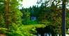 The cottage (evakongshavn) Tags: landscape cottage green lake light serene serenity tranquility outdoors norway norge enchantedforest fairytale
