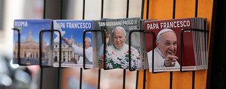 A collection of Popecards