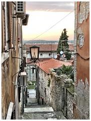 Above (aiva.) Tags: croatia istria pula hrvatska istra alley adriatic jadran sunset