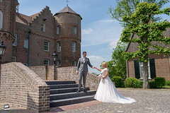 Marriage Michelle and Patrick (David Otten Fotografie) Tags: bride bruiloft croy d610 feest groom helmond holland kasteel nederland netherlands nikon nikond610 nikontop sigma sigma35mm14 speedlight wedding weddingdress castle couple davidottenfotografie dof dress fun love marriage matrimony sb700 stel