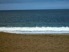 DSC04334 (classroomcamera) Tags: san francisco baker beach beaches sand sands sandy ocean oceans sea seas wave waves empty alone lone lonely blue blues foam foams white brown tan calm calming quiet