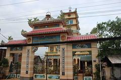 Cao Dai Temple, Sa Dec (Buster&Bubby) Tags: mekong caodai caodaitemple delta mekongdelta religion caodaireligion rivercruise neon sadec vietnam mekongriver