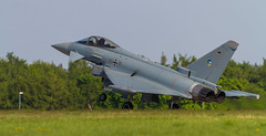 Eurofighter (Tilman R) Tags: jagdfluzeug ila luftwaffe eurofighter schönefeld berlin jet fighterjet bundeswehr