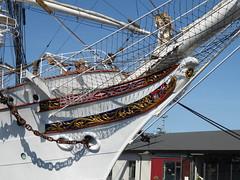 Statsraad Lehmkuhl in Bergen (jimcnb) Tags: geo:lat=6039838095 geo:lon=531937838 geotagged schiff 2018 mai norwegen ship boat vessel