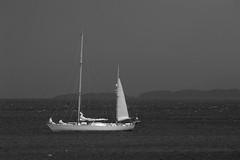 OCEAN SPIRIT OF MOREY Broadford-Bay-Skye-14-6-2018-B&W-mike-hemming (D1021) Tags: sailingboat yacht sailtrainingvessel stormhector gordonstounschool isleofskye skye gale broadford scotland nikond700 d700 ocean spirit morey oceanspiritofmorey