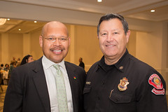 Vice Mayor John Kennedy & Deputy Fire Chief Bryan Frieders