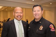 Vice Mayor John Kennedy & Deputy Fire Chief Bryan Frieders
