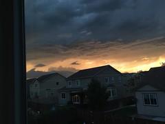 June 18, 2018 - Cool skies as the storm arrives. (Jesisca Fey)