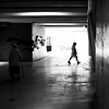 From a step to the other one (pascalcolin1) Tags: paris13 femmes women lumière light ombres shadows old vieille jeune young photoderue streetview urbanarte noiretblanc blackandwhite photopascalcolin 50mm canon50mm canon