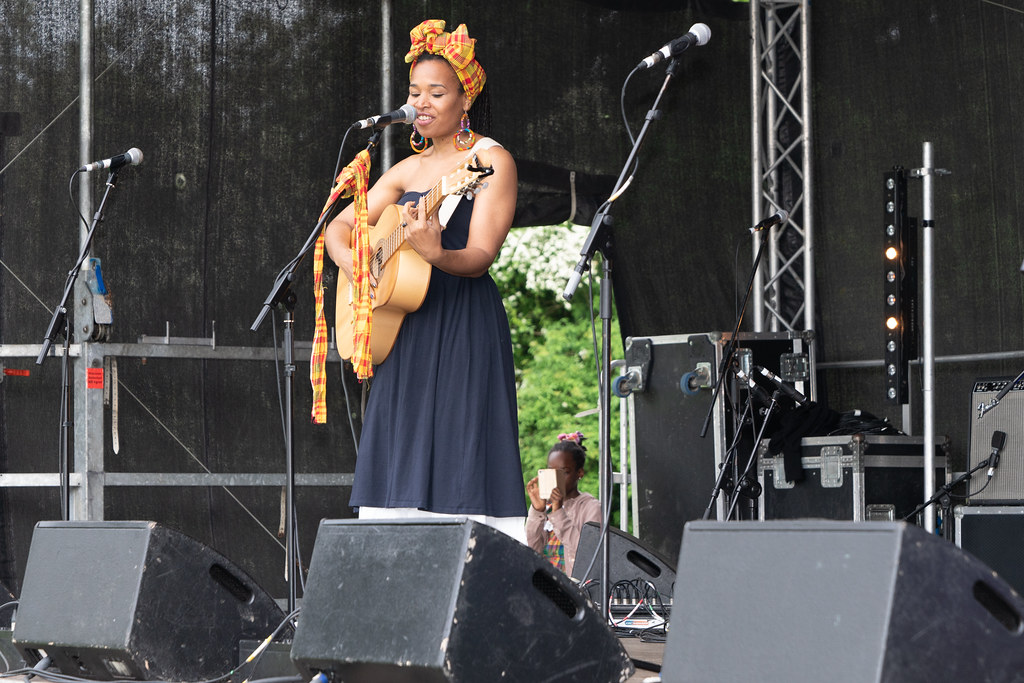 INES KHAI FROM GUADELOUPE [AFRICA DAY 2018 IN DUBLIN]-140505