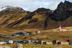 Vík (trochford) Tags: village buildings houses church hillside mountainside mountains landscape vik vík vikimyrdal víkímýrdal southiceland iceland is canon canon6d ef24105mmf4lisusm ef24105
