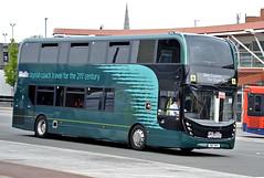 SN17MVV Skills Coaches in Mansfield (martin 65) Tags: skills enviro e400 enviro400 mansfield nottinghamshire coaches mmc road transport public bus buses