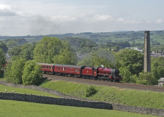 45699 Settle 29-05-18 (prof@worthvalley) Tags: all types transport steam locomotive railway railroad uk 45699 galatea settle carlisle