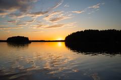 Sunset reflections (talaakso) Tags: finland finnishlake finnishlandscape järvi nikkor28300 nikond610 solnedgång sonnenuntergang sunset terolaakso clouds järvimaisema lake lakekukkia lakelandscape landscape luopioinen maisemakuva pilvet pälkäne sunsetlandscape talaakso
