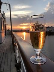 Bierchen (Photoauge.) Tags: iphone8 sundown sun sonne beer bier