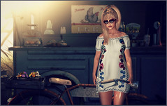 FabFree:  I Was Made For Sunny Days (Love Trill) Tags: truth glamaffair catwa maitreya exile cotton strawberrylake lwposes