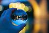Stari Most in a crystal ball (ncs1984) Tags: crystal ball stari most old bridge mostar reflection light bokeh ngc travel night dusk color colour blue yellow orb sphere glass canon6d canon bosniaandherzegovina bosnia herzegovina nice beautiful art artistic photography