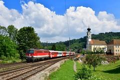"""1142 665 """"ÖBB"""" Wernstein (Matthias Greinwald) Tags: 1142 665 pflatsch öbb österreichische bundesbahn cityshuttle rex personenzug zug wernstein passau"""