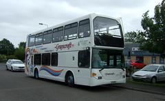 Grayscroft Coaches (Hesterjenna Photography) Tags: grayscroft coach bus psv transport travel schoolbus scholars scania eastlancs londongeneral londonbus mablethorpe alford lincolnshire lincs iig1656 yn03dfu