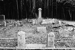 R1-057-27 (David Swift Photography) Tags: davidswiftphotography newjersey scullvillenj atlanticcountynj eggharbortownshipnj cemeteries graveyards familyplot tombstone graves nikonfm2 ilfordxp2 film 35mm