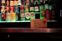 Neil's Bahr (dangaken) Tags: houston texas houstontx tx south usa america neilsbahr neilsbohr bohr nerd science bar downtown downtownhouston eatshitneil eatshit brick beer liquor dgaken dangaken photobydangaken