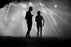 saturday night (O.Krüger) Tags: deutschland germany niedersachsen hannover streetphotography sw schwarzweis socialdocumentary streetlife silhouette bw bianconero blackwhite monochrom peopleinthecity people personen nightshot urban ngc
