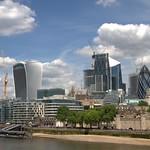 London : Beyond the river, the City... thumbnail