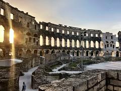 Coliseum (aiva.) Tags: croatia istria pula hrvatska arena coliseum sunset ruins istra balkan amphitheater jadran adriatic antic architecture