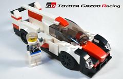 Toyota TS050 (OpenBagTwo) Tags: lego car moc speed champions lemans prototype lmp lmp1 toyota ts050