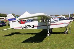 G-BZHG (GH@BHD) Tags: gbzhg tecnam p92 echo tecnamp92echo pophammicrolighttradefair2018 pophamairfield popham aircraft aviation microlight