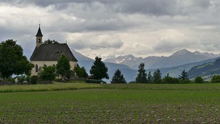 Blick auf die Südtiroler Berge