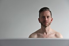 Peter W. 2018 # 24 (just.Luc) Tags: man male homme hombre uomo mann portret portrait ritratto retrato porträt face gezicht visage gesicht baard barbe barba bart beard gay