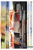 Deutschland Sachsen Rathmannsdorf_DSC1071Art2 (reinhard_srb) Tags: deutschland ost sachsen rathmannsdorf elbe bad schandau bahn linie bahnhof lost place gebäude berfallen leer baufällig artwork tür schrift grafitti
