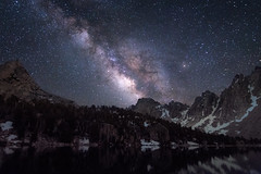 Summer Nights in the Eastern Sierra (rubenparra78) Tags: california landscape astrophotography backpacking easternsierra galaxy kingscanyon milkyway mountains nightscape stars