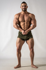 Model Anthony Roberto (Joe Eisel) Tags: tamronsp70200mmf28divcusd portrait man male fit fitness body builder posing bodybuilder competitive beard