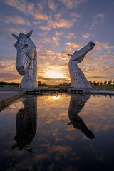 20180606-2053-26 (Don Oppedijk) Tags: grangemouth scotland verenigdkoninkrijk gb kelpies sunset