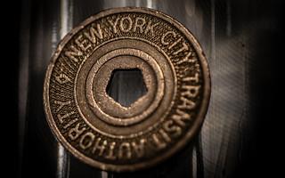 NYC Subway Token HMM