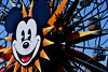 June 3: Mickey Wheel (earthdog) Tags: 2018 nikon nikond5600 d5600 18300mmf3563 disneyland disneyvacation anaheim travel vacation mickeysfunwheel mickeymouse face animal mouse paradisepier ferris wheel ferriswheel wonderwheel amusementpark themepark park ride amusementride project365 3652018 needstags needstitle vacation2018