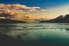 Glacier Bay Sunset (- Anthony Papa -) Tags: glacier bay anthony papa alaska mountains sky orange blue snow cold america west iceberg clouds amazing water ocean