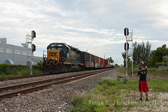 Yard Job (TolgaEastCoast) Tags: csx yard job local train y223 hialeah miami iris interlocking florida gp402 manifest boxcar east rail