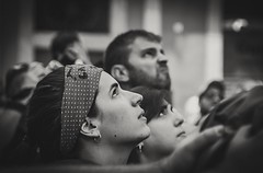 Mirades al Castell . (Alex Nebot) Tags: castells humantowers portrait retrat castellers catalunya barcelona barcelone nikon sigma people gent gente igers catalonia pais free cultura tradicions street photostreet urban callejerro calles carrer streets public