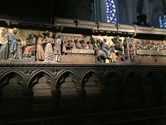 IMG_1208 (photos-by-sherm) Tags: notre dame cathedral paris france summer interior organ music chapels statues artwork carvings windows people