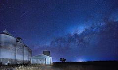 YANDILLA SILOS MILKY WAY (16th man) Tags: millmerran yandilla qld queensland australia milkyway astrophotography canon eos eos5dmkiv