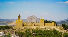 Antequera (clemensgilles) Tags: nasriden burg burgruine alcazaba castle andaluz andalusien antequera españa spanien