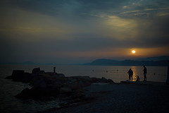 coucher de soleil LePradet- Var (Chocolatine photos) Tags: coucherdesoleil mer soleil nuit flickr nikon makemesmile 7dwf psp