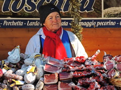 Prosciutto (markb120) Tags: food meal eating fare meat feed supply nutrition diet feeding prosciutto tradeswoman dealer trader vendor tradesman seller trafficker woman female she wife oldwoman feminine people sit sitting seated