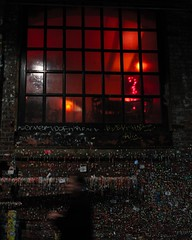 Pike Place Market 2 (Jasonnwolf) Tags: ghost redroom gumwall seattle washington blur neon neonred window